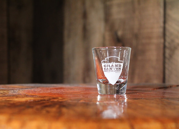 Distillery Arrowhead Shot Glass