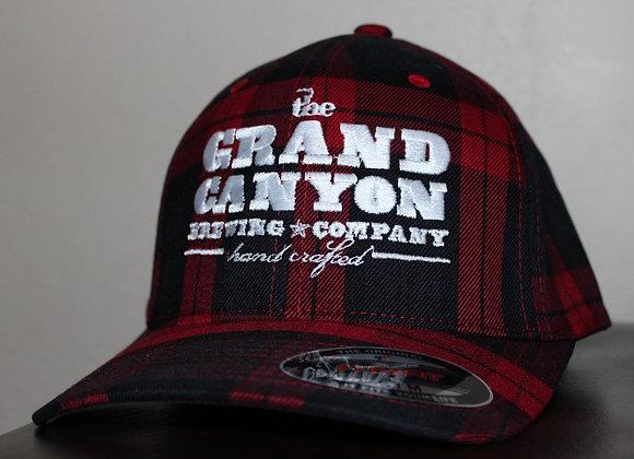 GCBC Plaid Flex-fit Baseball Hat