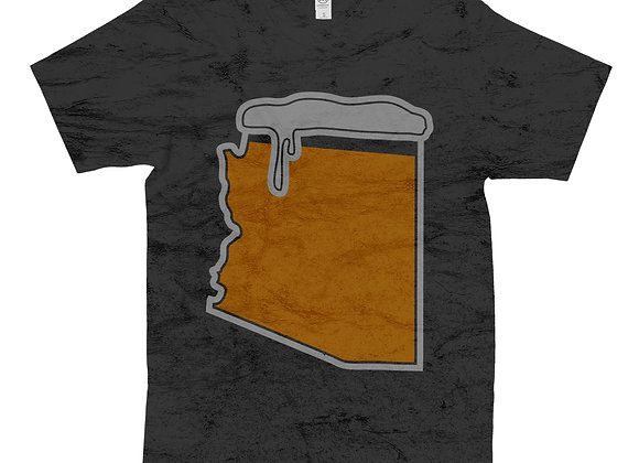 Unisex State of Beer Distressed