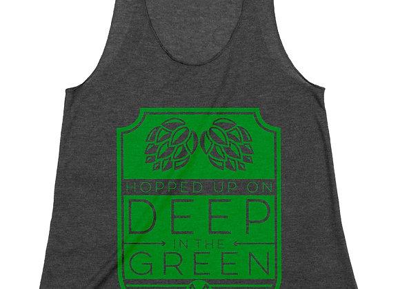 Deep in the Green Ladies Tank