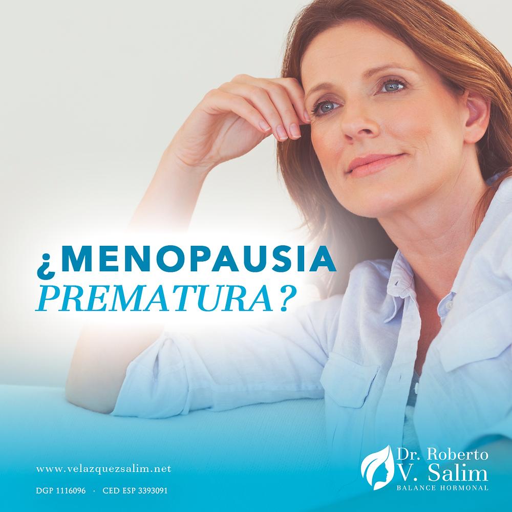 a los cuantos años llega la menopausia precoz