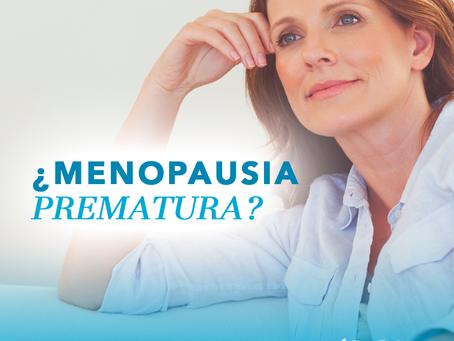 Menopausia prematura: causas y síntomas