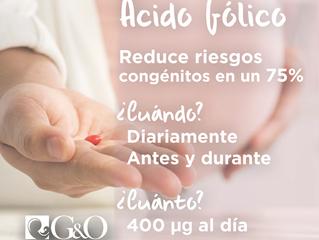 Falta de ácido fólico puede repercutir en salud de bebés