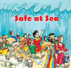 Safe at Sea children book