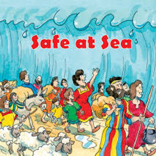 Safe at Sea children book