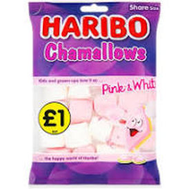 Haribo Chamallows Pink and White