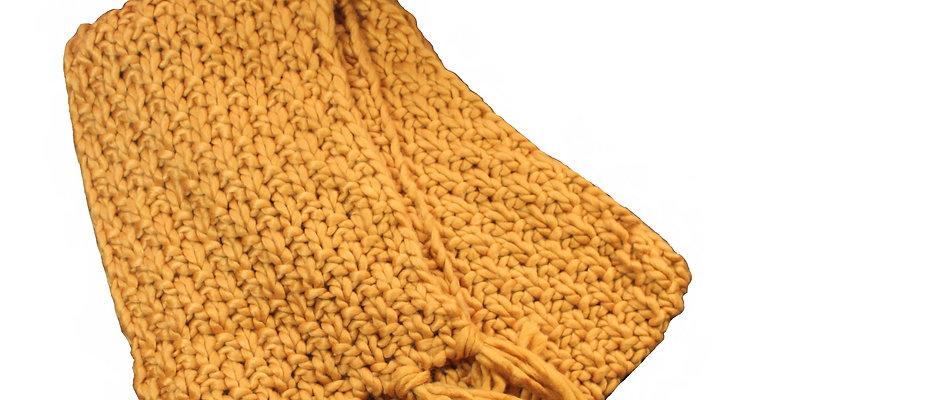 Long scarf mustard - New Road ®
