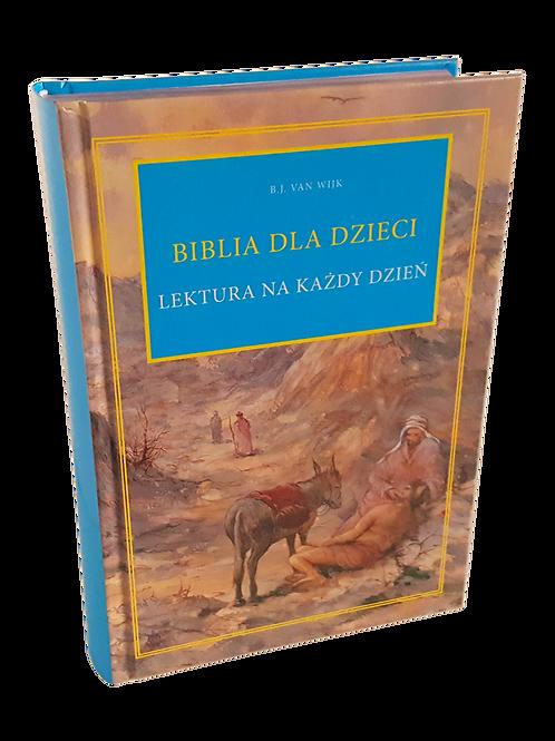 Biblia dla dzieci lektura na każdy dzień- Bible for children in polish language