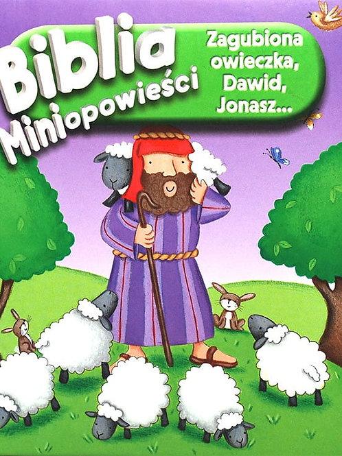 Biblia miniopowieści- Zagubiona owieczka ,Dawid, Jonasz