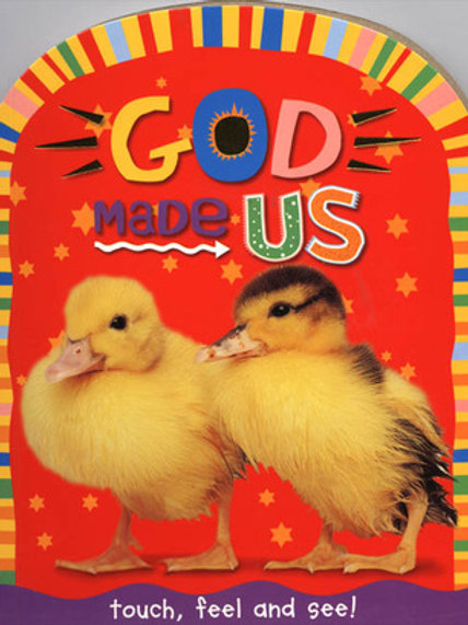 God Made Us by Joanna Bicknell - children book