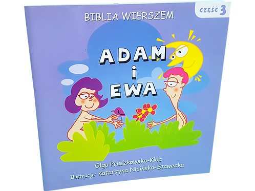 Biblia Wierszem-  Adam i Ewa cz.3- polish christian book