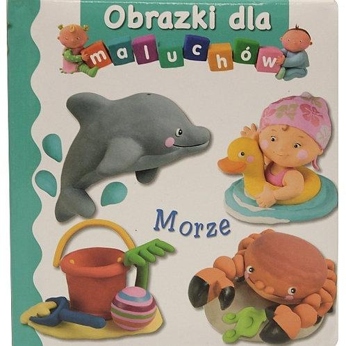 Morze obrazki dla maluchów-polish book for children