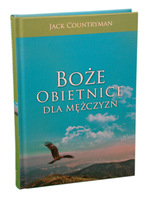 Boże obietnice dla mężczyzn- polish book