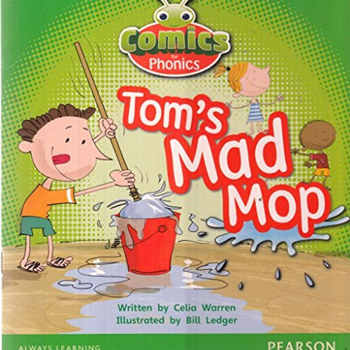 Tom's Mad Mop -children book