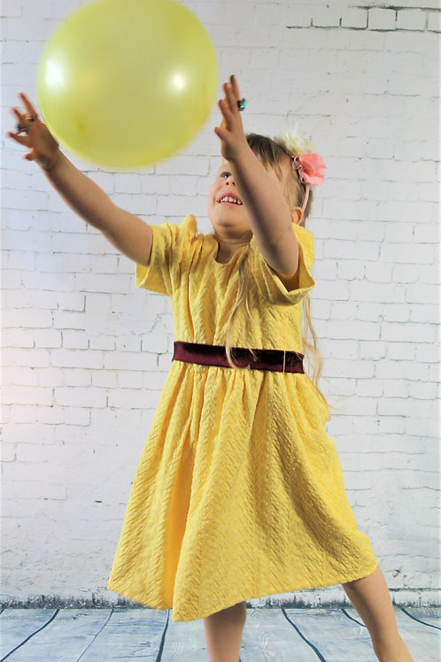 Yellow Girl's Dress