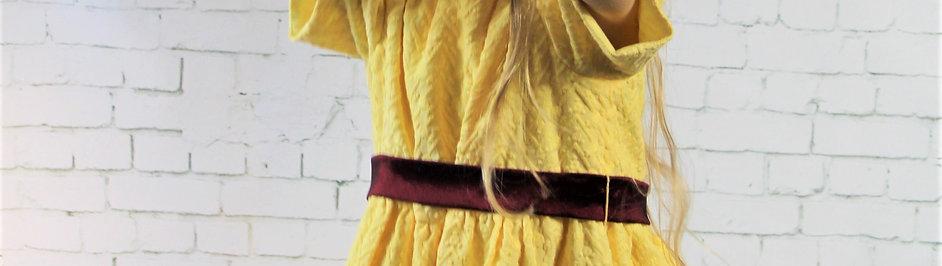 Yellow Girl's Dress