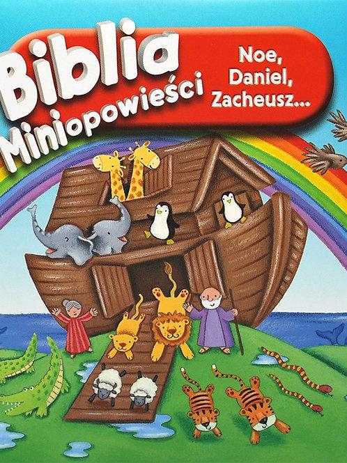 Biblia miniopowieści-Noe, Daniel, Zacheusz -bible for kids in polish