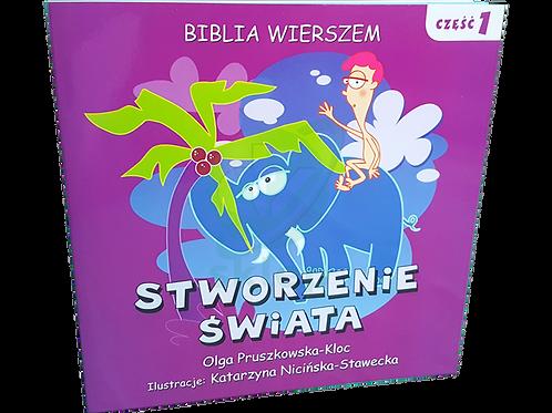 Biblia Wierszem- Stworzenie Świata cz.1 - polish christian book