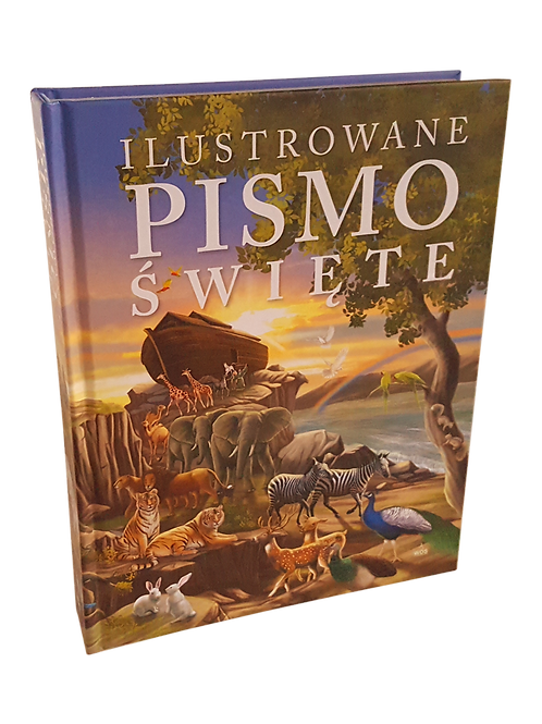 Ilustrowane Pismo Święte- ilustrated bible in polish