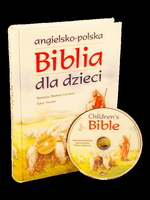 Angielski -Polska Biblia dla dzieci