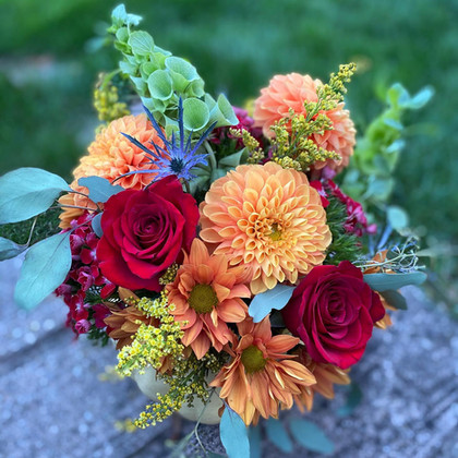 Blooming Harvest Pumpkin
