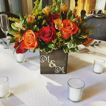 Fall Rustic Centerpiece