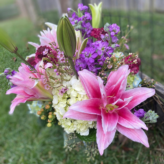 Flourish Lilly Arrangement