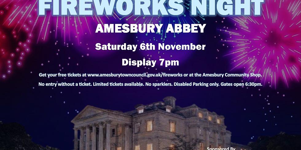 Amesbury Fireworks Night