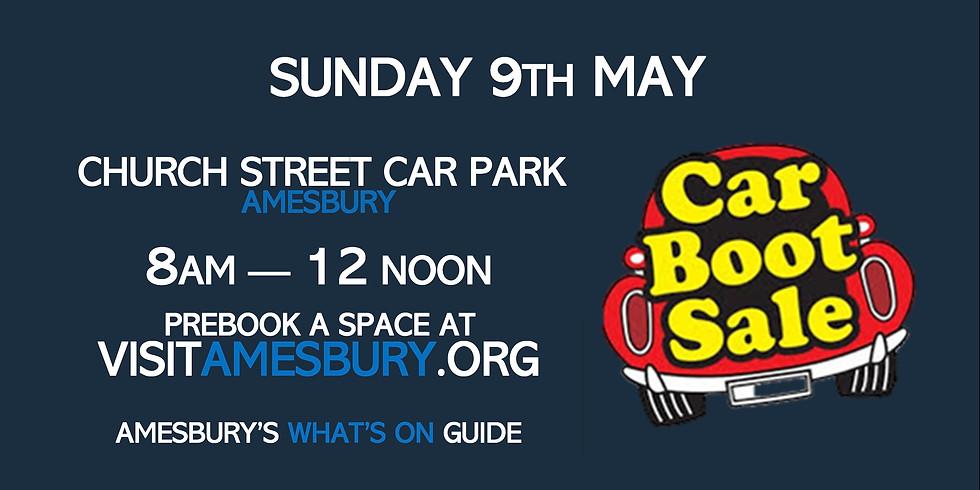 Amesbury Car Boot Sale May 9th