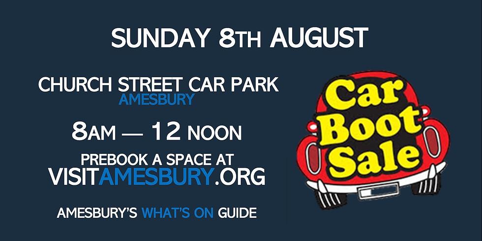 Amesbury Car Boot Sale August 8th