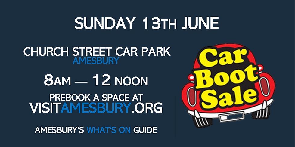 Amesbury Car Boot Sale June 13th