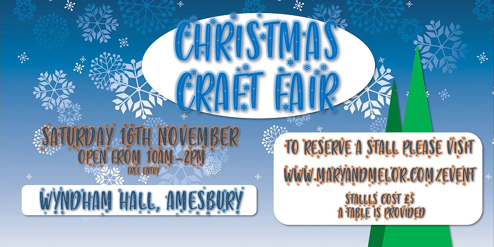 Christmas Craft Fair at the Wyndham Hall