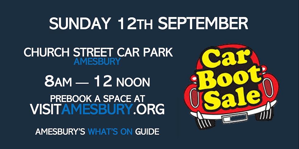 Amesbury Car Boot Sale September 12th