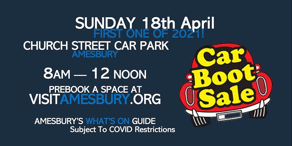Amesbury Car Boot Sale April 18th
