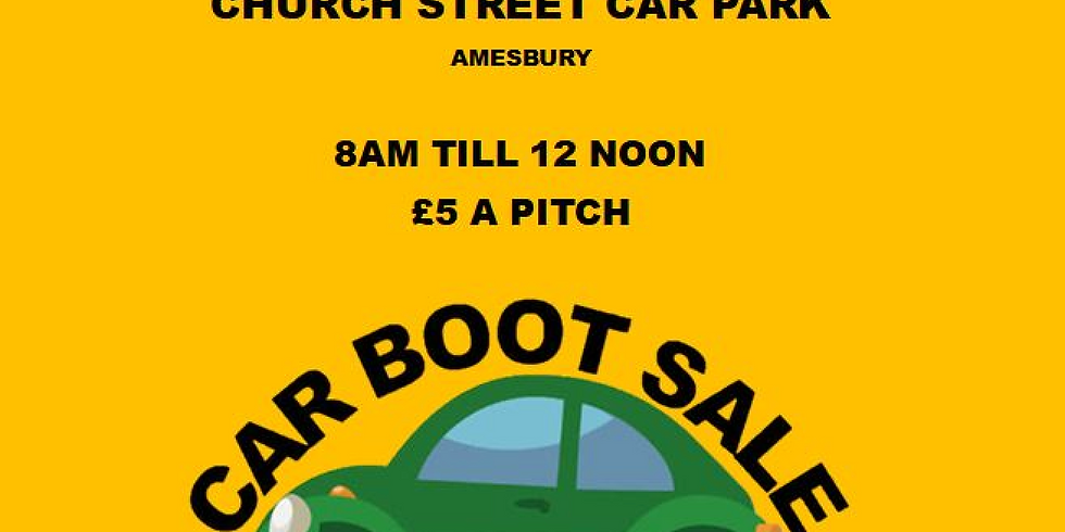 Amesbury Car Boot Sale. August 9th