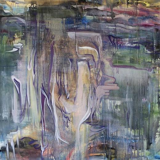 Repurposing canvas _#wip #contemporarypa