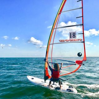 Jiam Steele BBYC Youth Windsurfing Miami