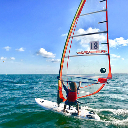 Jiam Steele BBYC Youth Windsurfing Miami