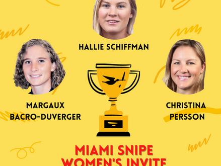 Perfect Conditions for the Second Miami Women's Snipe Invite