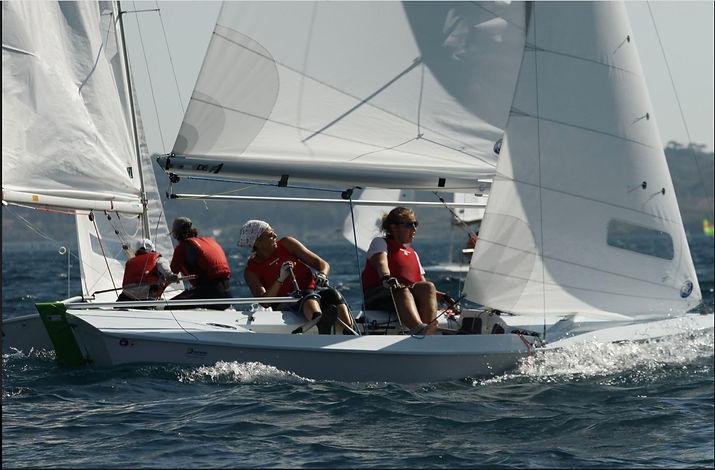 Leeward mark Team Italia Womens Snipe Wo