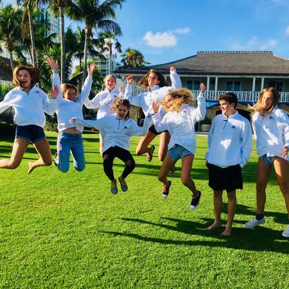 BBYC Windsurfing Team Orange Bowl Regatt