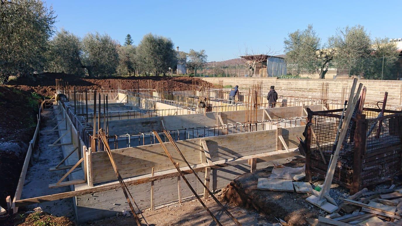 villa in costruzione roma