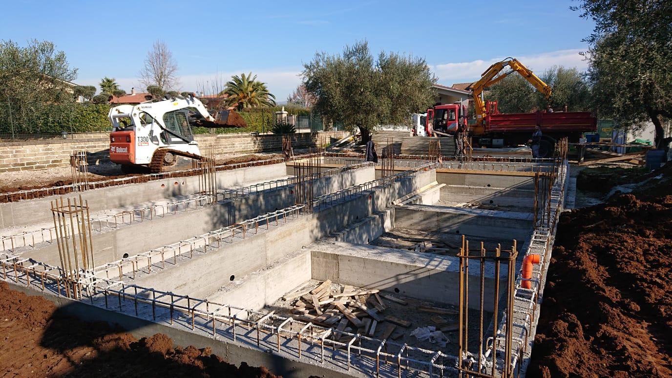 Costruzione villa Fiano romano