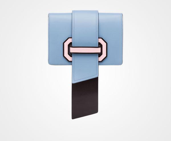 prada plex ribbon bag
