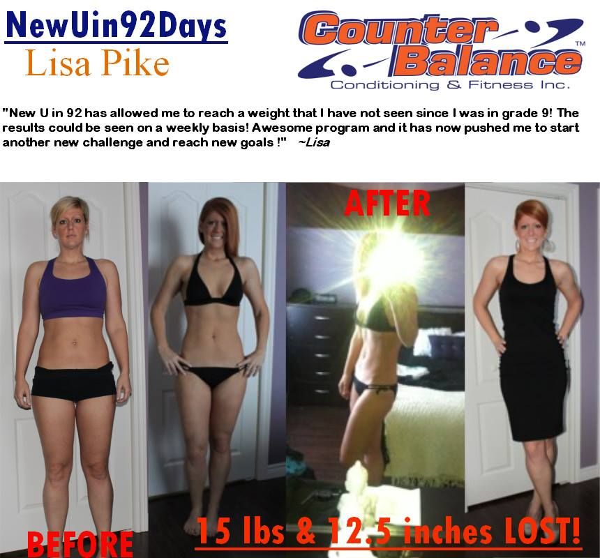 Lisa Pike - New You in 92 Days