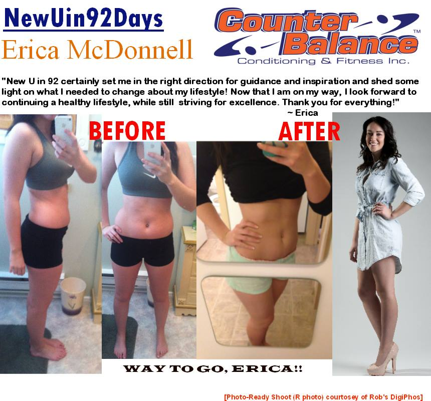 Erice McDonnell - New You in 92 Days