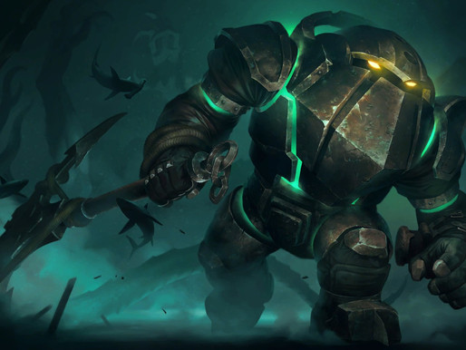 Riot reveals new cards, including a new champion Nautilus and two new mechanics!