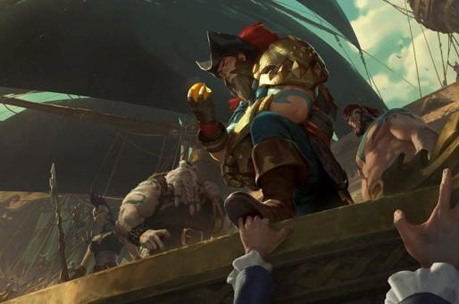 Gangplank barrels his way into Legends of Runeterra