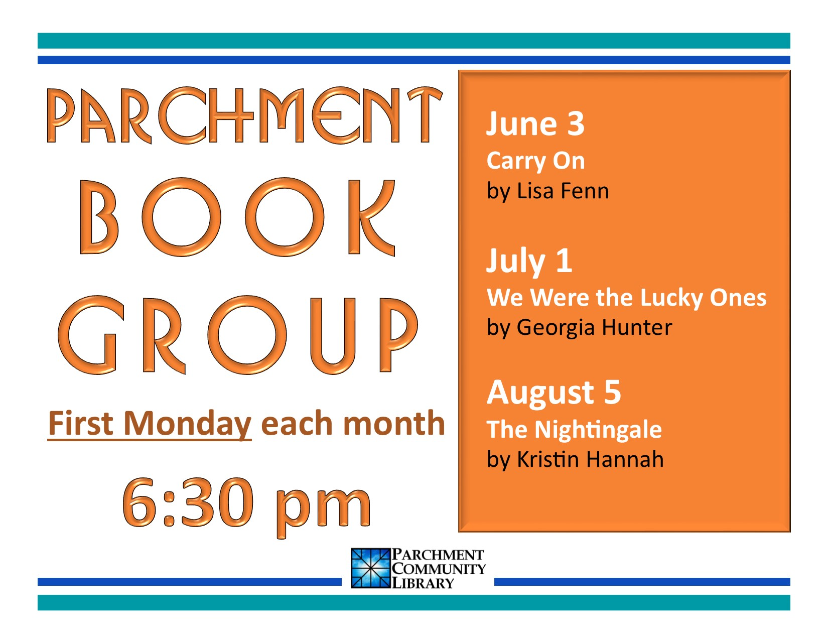 Book Club 2019 06 to 2019 08