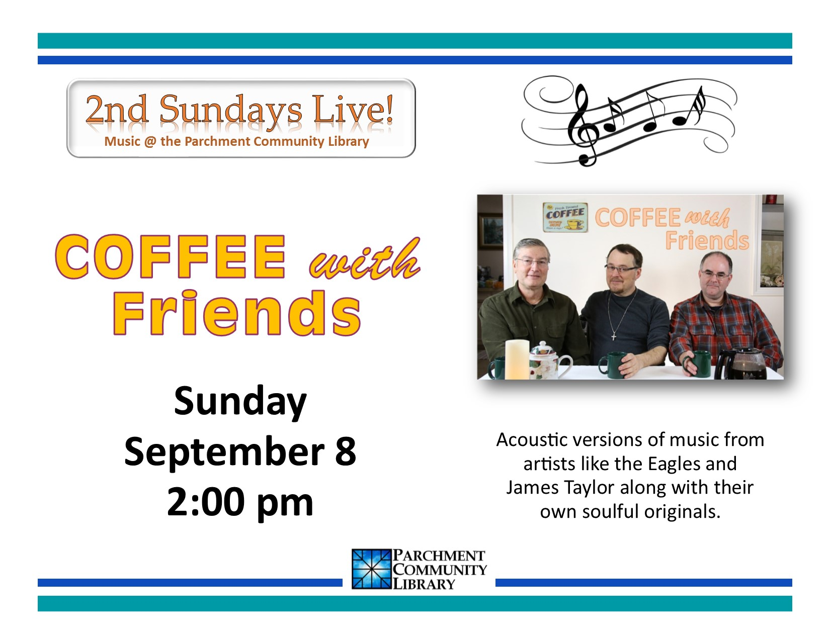 Second Sundays Live Coffee with Friends